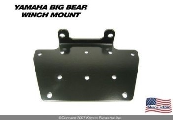 KFI WINCH MOUNT for YAMAHA BIG BEAR 400 ('00- '06)