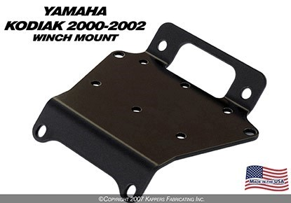 KFI WINCH MOUNT for YAMAHA KODIAK 400 ('00- '02)