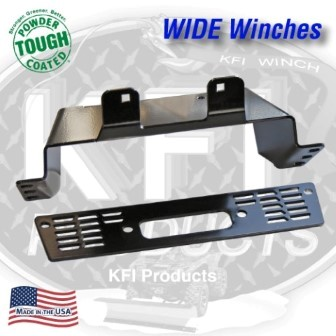 KFI WINCH MOUNT POLARIS RANGER EV + 500/500 CREW