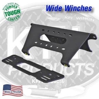 WINCH MOUNT POLARIS RANGER 900 XP WIDE