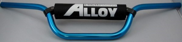 HANDLE BAR ANODIZED ALUMINUM  BLUE