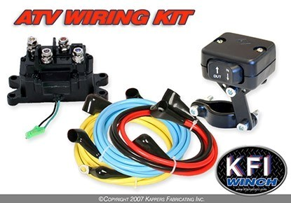 UNIVERSAL ATV WINCH 12V WIRING KIT BY KFI
