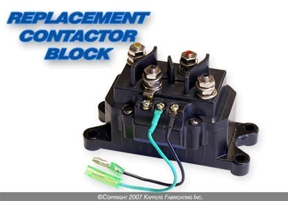REPLACEMENT CONTACTOR for KFI WINCHES