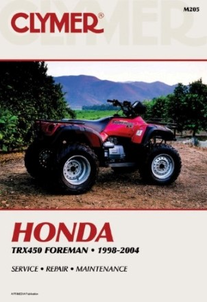 REPAIR MANUAL TRX450 FOREMAN 1998-2004