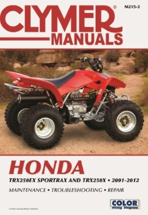 REPAIR MANUAL TRX250EX 01-05