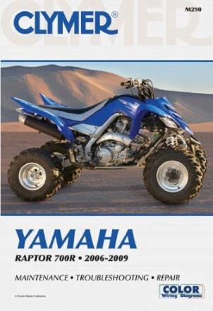 REPAIR MANUAL YAMAHA RAPTOR 700R 06-09