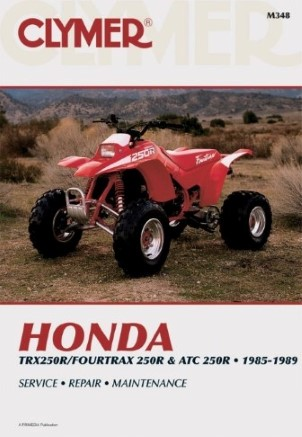 REPAIR MANUAL ATC250R TRX250R/4-TRAX 250R/85-89