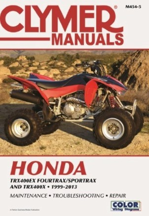 REPAIR MANUAL 99-07 TRX 400EX
