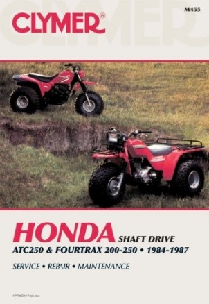 REPAIR MANUAL 84-87 ATC 250 & FOURTRAX200/250