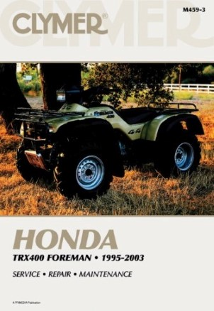 REPAIR MANUAL HONDA TRX400FW 95-98