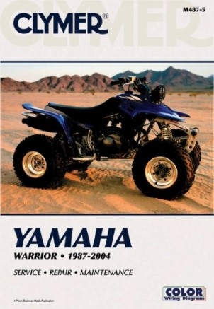 REPAIR MANUAL 87-95 YFM350X/WARRIOR & ER