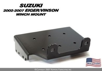 KFI WINCH MOUNT for SUZUKI EIGER VINSON '02- '07