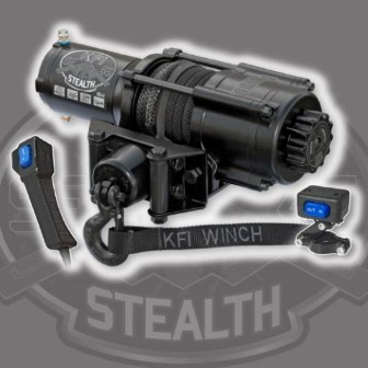 KFI ATV WINCH KIT STEALTH 4500