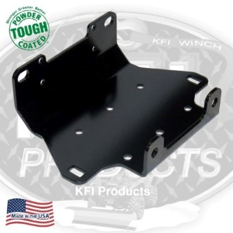 KFI WINCH MOUNT for GRIZZLY 550 ('09- '13) /  GRIZZLY 700 ('07- '13)