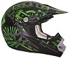 CKX Helmet TX-218 Pursuit Green/Black