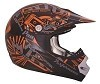 CKX Helmet TX-218 Pursuit Youth Orange/Black