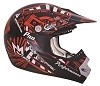 CKX Helmet TX-218 Pursuit Red/Black
