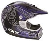 CKX Helmet TX-218 Whip Black/Blue/White