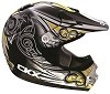 CKX Helmet TX-218 Whip Black/Yellow/White
