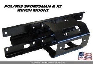 KFI WINCH MOUNT for POLARIS SPORTSMAN/X2 '05-'10