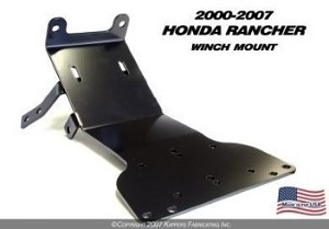 KFI WINCH MOUNT for HONDA TRX350 RANCHER