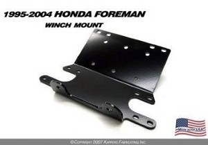 KFI WINCH MOUNT for HONDA TRX400 / 450