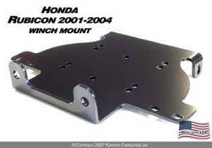 KFI WINCH MOUNT for HONDA 500 RUBICON