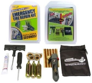 TIRE REPAIR KIT WITH INFLATION KIT