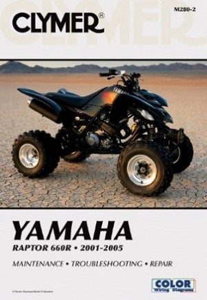 REPAIR MANUAL YFM660R RAPTOR 01-02