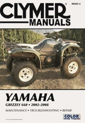 REPAIR MANUAL YFM660 GRIZZLY 02-08