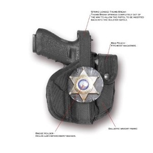 The Shadow MP - Semi-Automatic Pistol Holster Full Size 4""