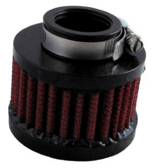 CLAMP ON BREATHER FILTER 1""