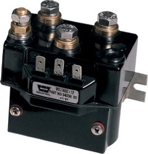 SOLENOID 2500 LB WEATHER RESISTANT