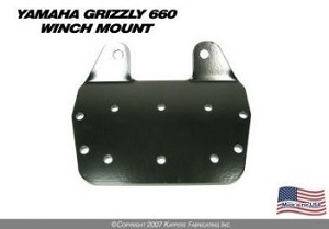 KFI WINCH MOUNT for YAMAHA GRIZZLY 660 '02- '08