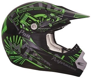 CKX Helmet TX-218 Pursuit Youth Green/Black