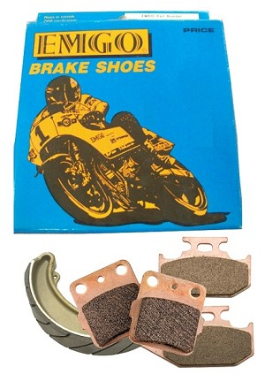 BRAKE SHOES REAR TRX250D RECON   BR104