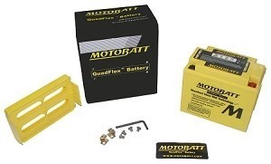 Motobatt Batteries MB10U, Replaces YB10LB, YB10A-A2
