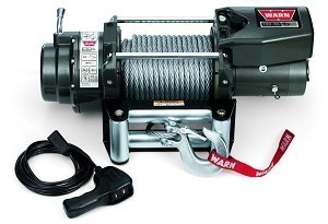 Warn 16.5ti Winch, 90' of Wire Rope