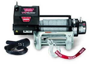 Warn VR12000 Winch, 94' of Wire Rope